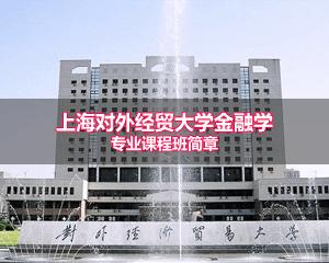 上海对外经贸大学金融学专业