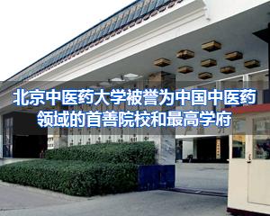 北京中医药大学招生简章