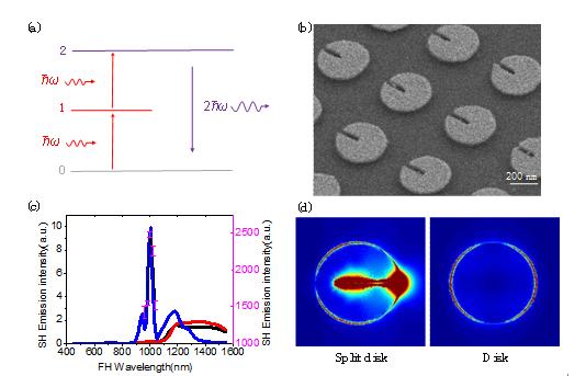 湖南大学段辉高教授研究组在非线性光学微纳结构先进设计加工方向取得进展