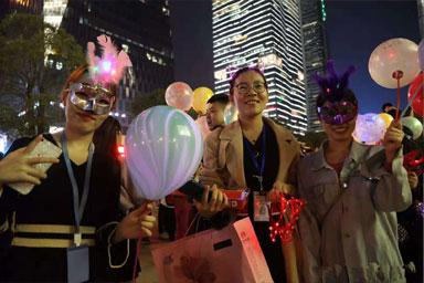 2018广州国际灯光节闪耀夜空!